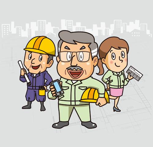 見積書から工事台帳、仕入・外注管理まで、すべてをサポートします!